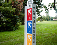Belmont Plateau Cross Country Signage