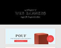 Web banners for CAB Déco