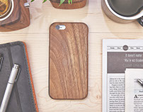 Walnut iPhone 6s Case