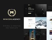 Minicon Responive HTML & PSD Template