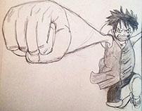 One Piece fan art 2015
