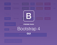 +120 FREE Elements Bootstrap 4 GUI