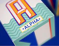 Nautical Alphabet Blocks
