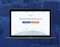 Easyship v.2 Webdesign