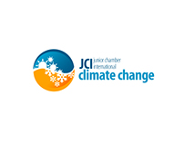 Junior Chamber International - Climate Change Logo
