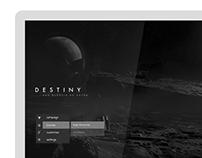 GUI - Destiny