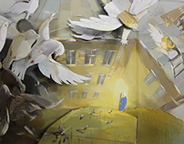 Pop-up book «Minsk under the white wings»