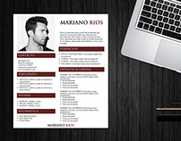 Free Word (.docx) resume design