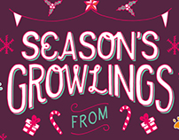 Season's Growlings!