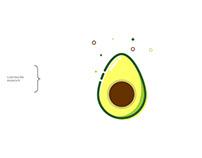 Ilustración aguacate-avocado...