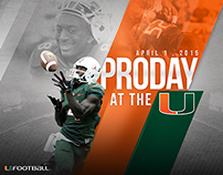 PRO DAY AT THE U