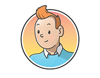 Character design of ¨The Adventures of Tintin""