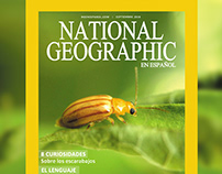 "Portada de Revista ""National Geographic"""
