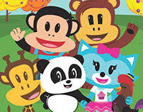 "Children's Book Illustration ""Howdy Doodle Doo"""