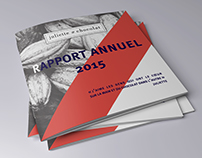 Juliette et chocolat - Rapport annuel 2015