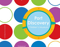 Port Discovery Children's Museum Proposal Cover