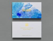 Photorealistic Business Card Mockup // Black & White
