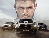 Toyota TRD campaign with Khabib Nurmagomedov