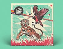 """Lika Nova - """"Sangre de Prófugo """" Album Artwork & Logo"""