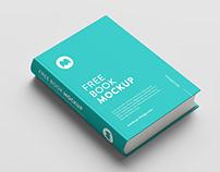 Free PSD Hardcover Book Mockup