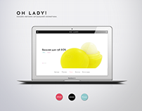OH LADY! Online Beauty Store Website
