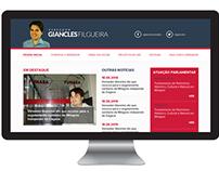 Site do Vereador Giancles Filgueira