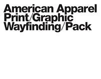 American Apparel – Print