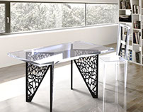 Table and Chair Design for Kartell