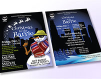 Holiday Show Postcard and Event Ticket