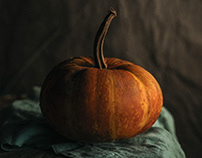 Still life: Pumpkin & others