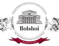 The Bolshoi Theater logo.