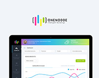 ONENODDE - LANDING & DASHBOARD DESIGN