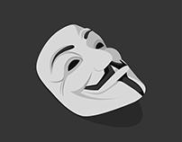 V for Vendetta | Flat Art.