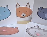 Tactile cards: Fuzzy Noses