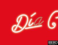 Ibero Día C Retro brand concept