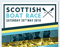 Scottish Boat Race Branding
