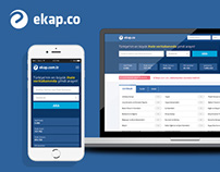 Ekap.co UI/UX Design