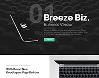 Breeze Biz - Infinite Template