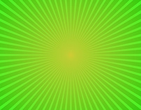 FREE Vector: Green Gradient Ray Burst Background