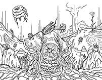 Digital Doodle 5 / Inktober 2017