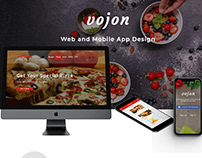 Vojon Web & Mobile app Design.