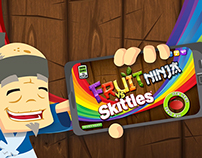 Skittles VS Fruit Ninja Promotional Video