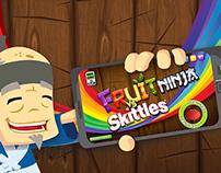 Skittles VS Fruit Ninja Promotional Video
