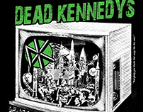 Dead Kennedys Europe Tour Shirt