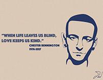 Chester Bennington Tribute and Mockups