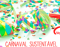 Campanha Carnaval Sustentável [Social Media]