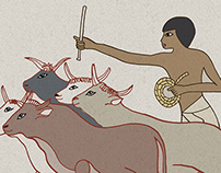 AMENHOTEP´S STORY/ illustrations/ CaixaForum Madrid