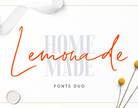 Lemonade Fonts DUO
