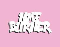 NMF Burner free font