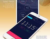 Sand Timer Mobile App